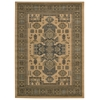"Nourison Maymana Rectangle Rug  By Nourison, Camel, 5'3"" X 7'4"""