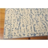 "Nourison Nepal Rectangle Rug  By Nourison, Ivory Blue, 5'3"" X 7'5"""