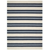 "Bbl2 Oxford Rectangle Rug By, Awning Stripe, 7'9"" X 10'10"""