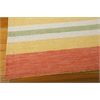 "Nourison Bbl2 Oxford Rectangle Rug  By Nourison, Citrus, 5'3"" X 7'5"""