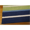 "Nourison Bbl2 Oxford Rectangle Rug  By Nourison, Regatta, 5'3"" X 7'5"""