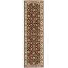"Nourison Persian Crown Runner Rug  By Nourison, Brick, 2'2"" X 7'6"""