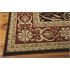 "Nourison Persian Crown Rectangle Rug  By Nourison, Dark Brown, 7'10"" X 10'6"""