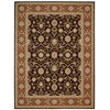 Persian Crown Dark Brown Area Rug