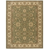 "Nourison Persian Crown Rectangle Rug  By Nourison, Green, 7'10"" X 10'6"""