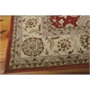"Nourison Persian Crown Rectangle Rug  By Nourison, Red, 7'10"" X 10'6"""