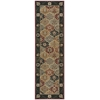 "Persian Crown Runner Rug By, Black, 2'2"" X 7'6"""