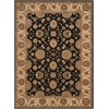 Persian Crown Black Area Rug