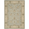 "Persian Empire Rectangle Rug By, Aqua, 7'9"" X 10'10"""