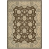 "Nourison Persian Empire Rectangle Rug  By Nourison, Chocolate, 7'9"" X 10'10"""