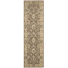 "Nourison Persian Empire Runner Rug  By Nourison, Mocha, 2'3"" X 8'"