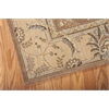 "Persian Empire Rectangle Rug By, Mocha, 5'3"" X 7'5"""