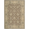"Persian Empire Rectangle Rug By, Mocha, 7'9"" X 10'10"""