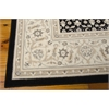 "Persian Empire Rectangle Rug By, Black, 7'9"" X 10'10"""