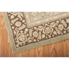 "Nourison Persian Empire Rectangle Rug  By Nourison, Green, 5'3"" X 7'5"""