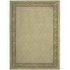 "Persian Empire Rectangle Rug By, Green, 7'9"" X 10'10"""