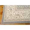 "Nourison Persian Empire Rectangle Rug  By Nourison, Silver, 7'9"" X 10'10"""