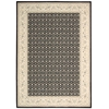 Persian Empire Black Area Rug