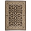 Persian Empire Rectangle Rug By, Chocolate, 2' X 2'9""