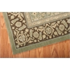 Persian Empire Green Area Rug