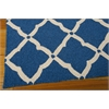 Portico Rectangle Rug By, Navy, 5' X 7'6""