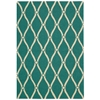 Portico Aqua Indoor/Outdoor Area Rug