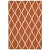 Portico Orange Indoor/Outdoor Area Rug