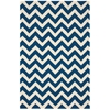 Nourison Portico Rectangle Rug  By Nourison, Navy, 5' X 7'6""