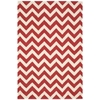 Nourison Portico Rectangle Rug  By Nourison, Red, 5' X 7'6""