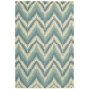 "Bbl18 Prism Rectangle Rug By, Pacific, 5'3"" X 7'5"""