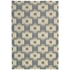 "Bbl18 Prism Rectangle Rug By, Slate, 5'3"" X 7'5"""
