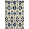 "Bbl18 Prism Rectangle Rug By, Indigo, 5'3"" X 7'5"""