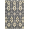 "Bbl18 Prism Rectangle Rug By, Pebble, 5'3"" X 7'5"""