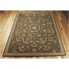 "Nourison Regal Rectangle Rug  By Nourison, Chocolate, 7'9"" X 9'9"""