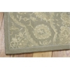"Nourison Regal Runner Rug  By Nourison, Green, 2'3"" X 8'"