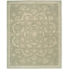 Regal Green Area Rug