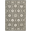 "Regal Rectangle Rug By, Cobble Stone, 3'9"" X 5'9"""