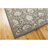 "Nourison Regal Rectangle Rug  By Nourison, Cobble Stone, 7'9"" X 9'9"""