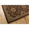"Regal Rectangle Rug By, Chocolate, 7'9"" X 9'9"""