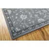 "Nourison Regal Rectangle Rug  By Nourison, Slate, 7'9"" X 9'9"""