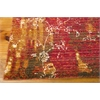 "Rhapsody Rectangle Rug By, Gold Garnet, 7'9"" X 9'9"""