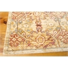 "Nourison Rhapsody Rectangle Rug  By Nourison, Light Gold, 7'9"" X 9'9"""