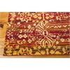 "Rhapsody Rectangle Rug By, Multicolor, 7'9"" X 9'9"""