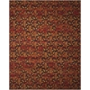 Rhapsody Flame Area Rug