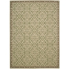 "Nourison Riviera Rectangle Rug  By Nourison, Green, 7'9"" X 10'10"""