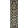 "Riviera Runner Rug By, Graphite, 2'3"" X 8'"