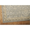 "Nourison Riviera Rectangle Rug  By Nourison, Blue, 5'3"" X 7'5"""