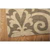 "Riviera Rectangle Rug By, Mocha, 5'3"" X 7'5"""