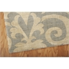 "Nourison Riviera Rectangle Rug  By Nourison, Slate, 5'3"" X 7'5"""