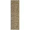 "Nourison Riviera Runner Rug  By Nourison, Chocolate, 2'3"" X 8'"